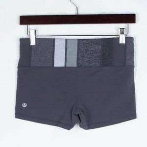 Lululemon Gray Boogie Shorts Women's Size 6